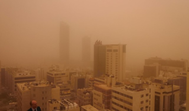 aemet, polvo atmosférico, taller, aman