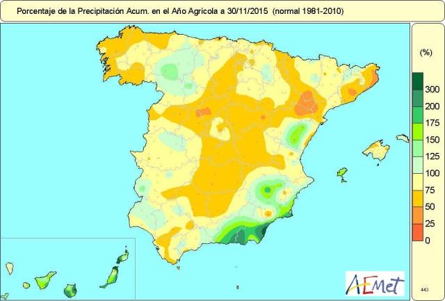 Precipitación acumulada