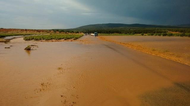 Precipitación súbita Utiel