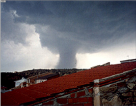 tornado alcañiz