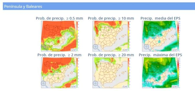 probabilidad precipitación