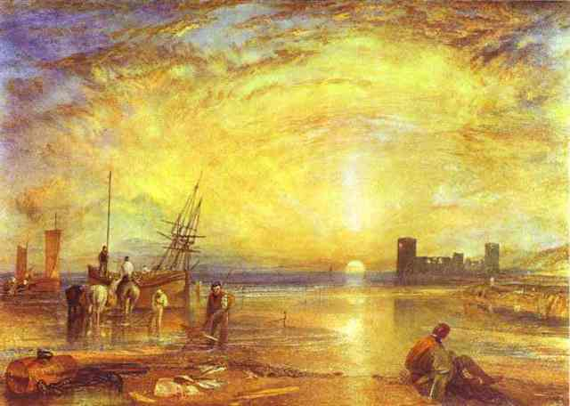 Figura 8: Flint Castle. William Turner, 1838. Colección particular.