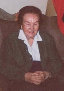 Antonia Roldán poco antes de su fallecimiento