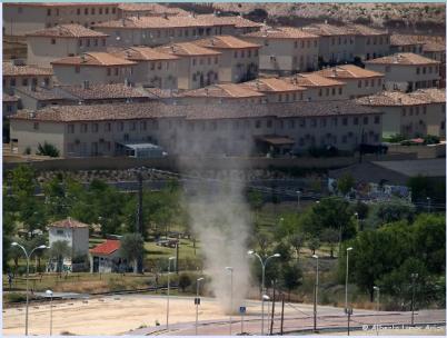 Tolvanera en Ontígola (Toledo), 2 de agosto de 2008